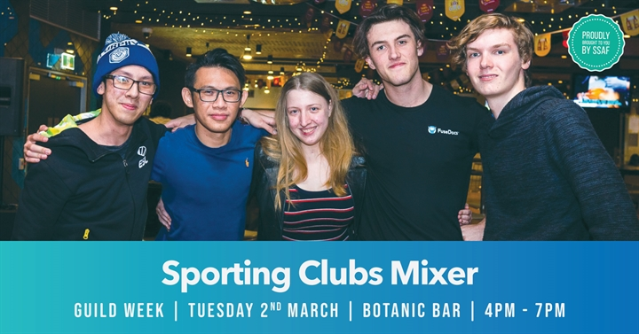 Guild Week: Sporting Clubs Mixer